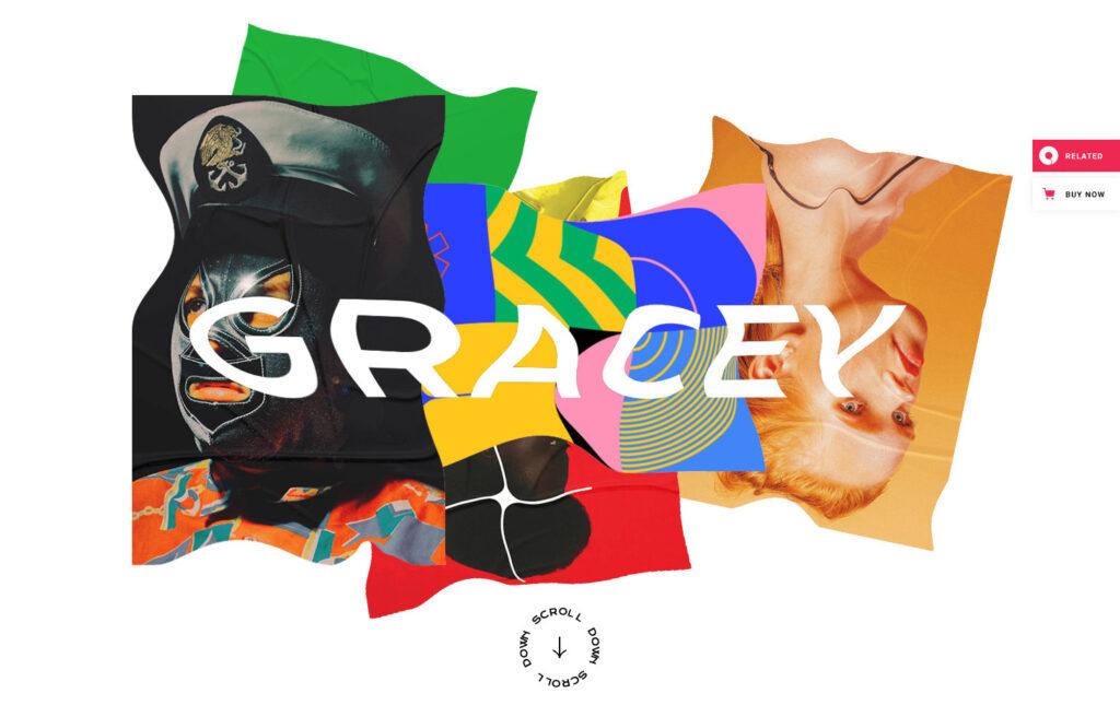 Gracey Creative WordPress Theme