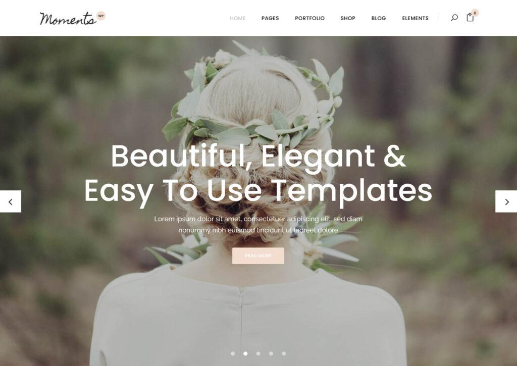 Moments – A Multipurpose Wedding Celebration Event Theme