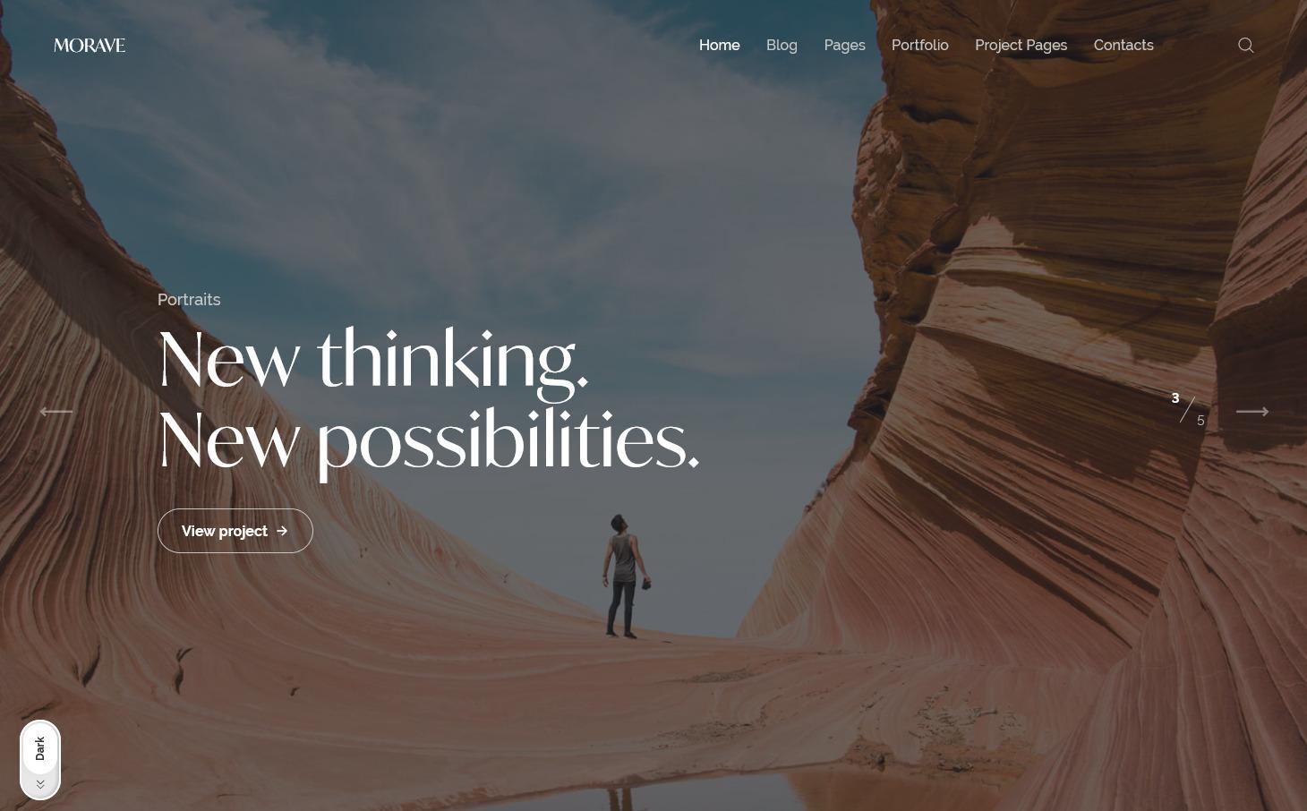 Morave Theme WordPress PhotographyThemes