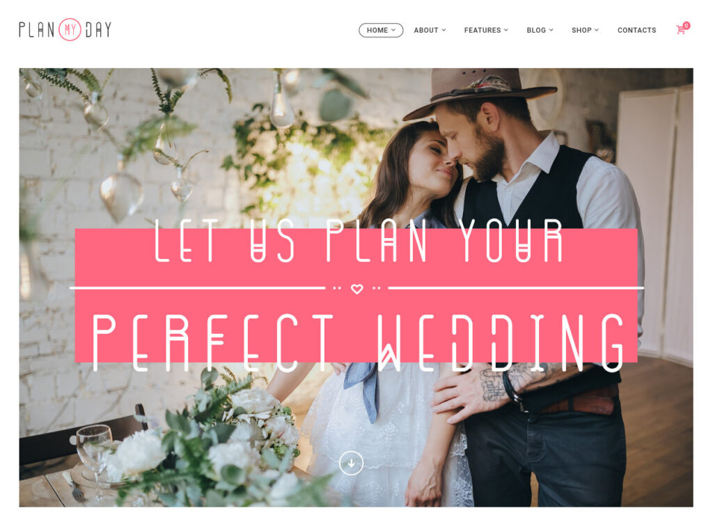 PlanMyDay – Wedding Agency and Planner Theme