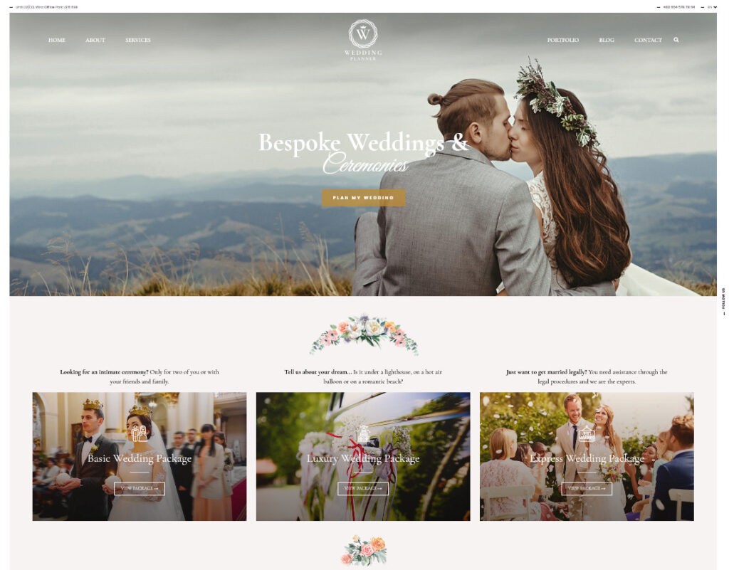Wedding Planner Multiple Designs for Events and Weddings