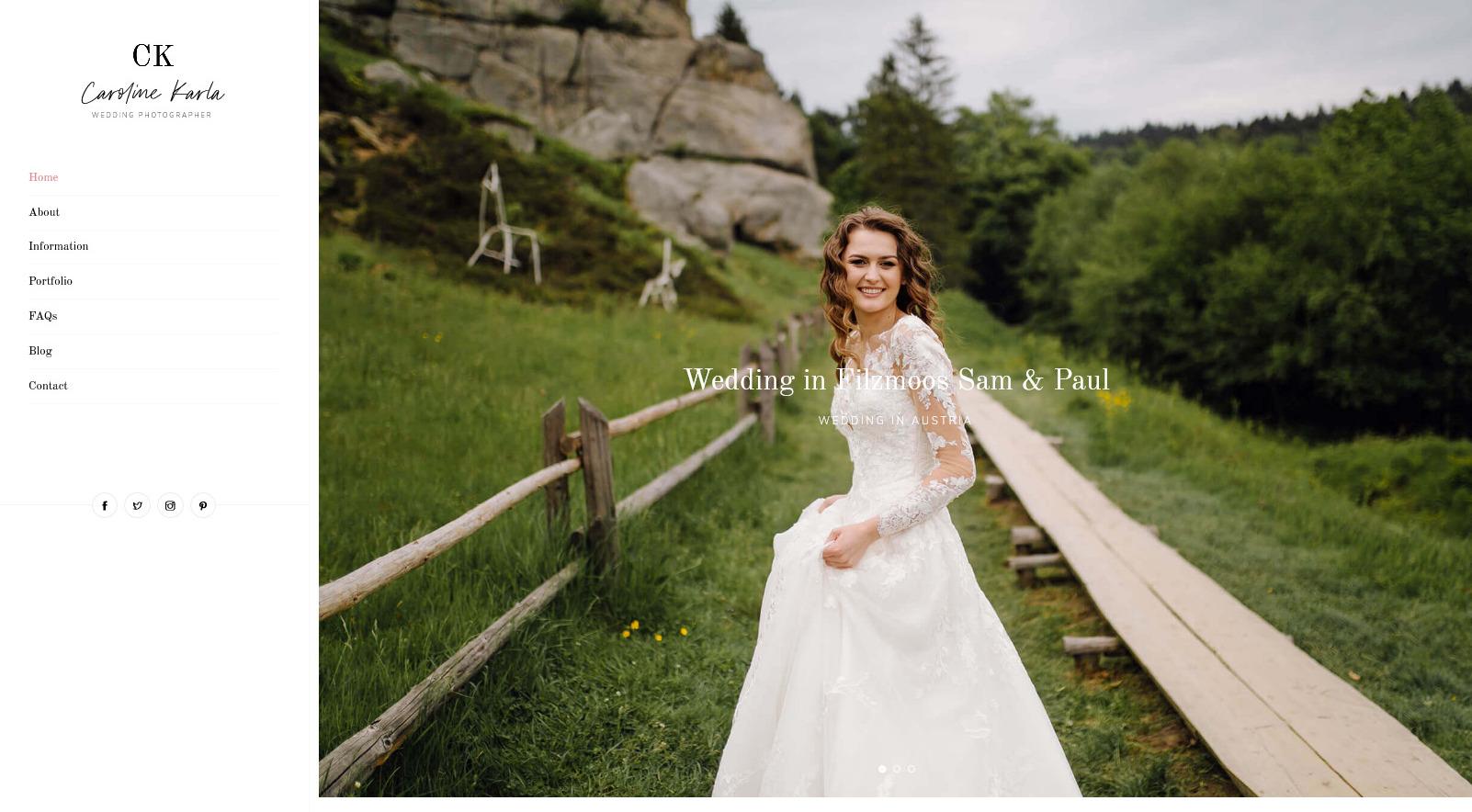 CKarla Wedding and Event Planner WorfdPress Theme
