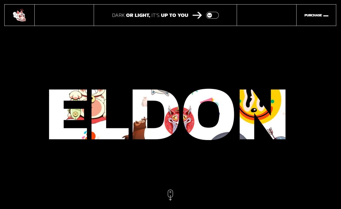 Eldon Artist Portfolio Theme Preview ThemeForest