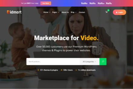Eidmart Digital Marketplace WordPress Theme