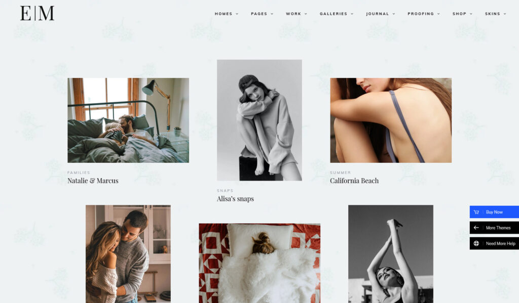 Snapster Photography WordPress